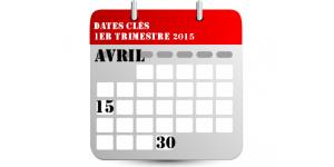 Calendrier social T1 2015